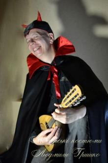 фото карнавальный костюм люцифера на halloween