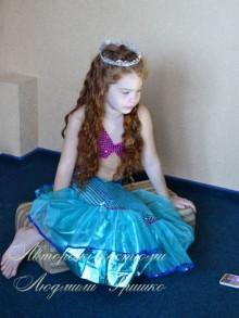 костюм русалочки на Хеллоуин для девочки