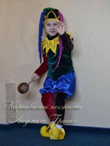 костюм шута для мальчика фото