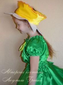 костюм цветка нарцисса фото шапочки