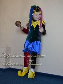 костюм шута фото детского карнавального костюма