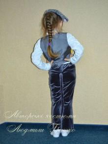 костюм мышонка фото вид со спины