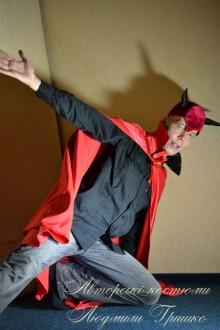 фото маскарадного наряда для мужчины костюм мефистофеля