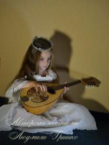 авторский костюм принцессы для девочки фото