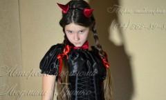костюм чертика для девочки фото