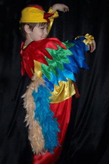 авторский карнавальный костюм петушок фото