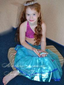 костюм русалочки фото карнавального костюма