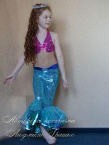 фото костюм русалочки детский