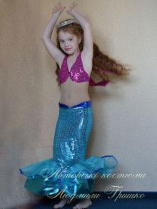 костюм русалочки фото