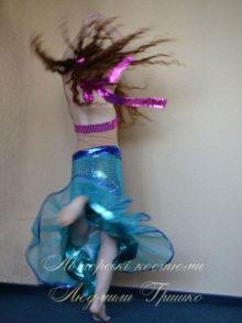 костюм русалочки фото вид со спины