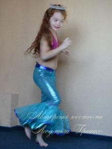 костюм русалочки фото для девочки