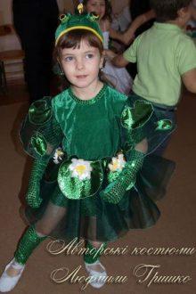 карнавальный костюм царевны лягушки фото с утренника