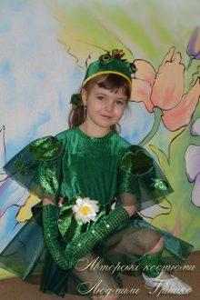 костюм царевны лягушки для девочки фото