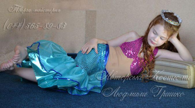 фото костюм русалочки детский карнавальный