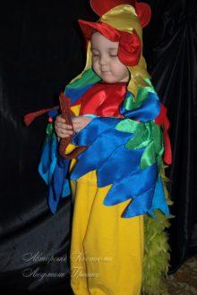 фото костюм петушка с капюшоном и крыльями