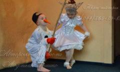снеговик иснежинка фото детских костюмов