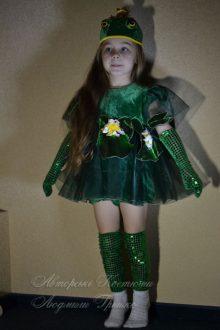 костюм царевны лягушки фото