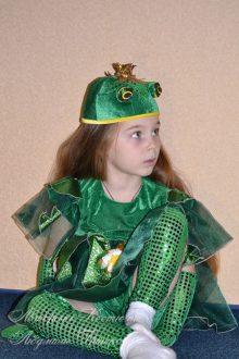 карнавальный костюм царевны лягушки фото