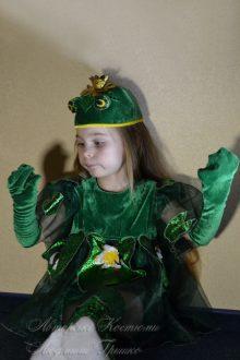 костюм царевны лягушки карнавальный фото