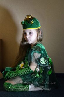 детский костюм царевны лягушки фото