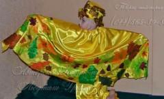 Костюм Осеннего Месяца и другие авторские карнавальные костюмы от дизайнера Людмилы Гришко на Прокат в Киеве (044) 565-89-83