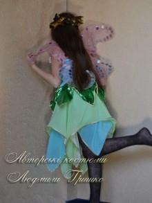 костюм эльфа для девочки фото вид сзади