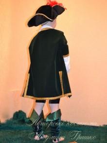 костюм разбойника фото вид со спины