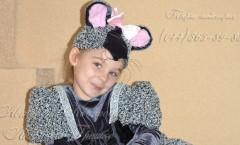 Костюм Мышка и другие авторские карнавальные костюмы от дизайнера Людмилы Гришко на Прокат в Киеве (044) 565-89-83