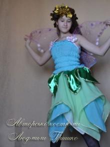 фото костюм эльфа для девочки на праздник осени