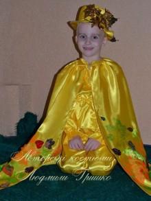 карнавальный костюм осеннего месяца фото