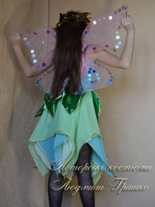 костюм эльфа для девочки фото крыльев