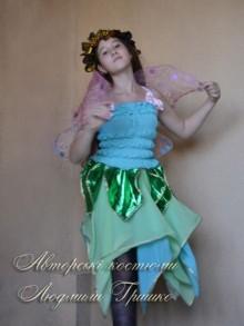 карнавальный костюм эльфа для девочки фото