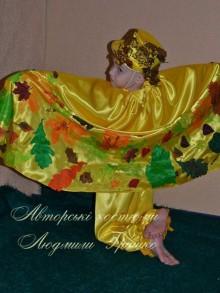 карнавальный авторский костюм осеннего месяца фото