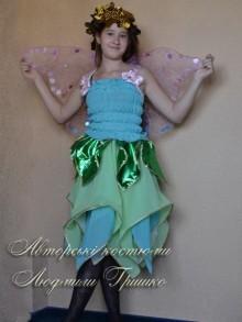 авторский костюм эльфа для девочки фото