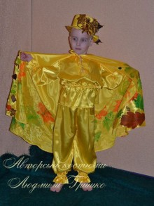 костюм осеннего месяца на праздник осени фото