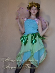 новогодний костюм эльфа для девочки фото
