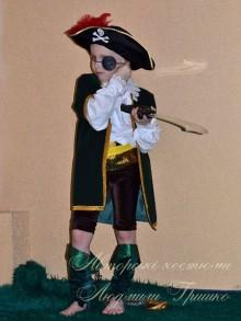 детский карнавальный костюм разбойника фото