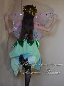 костюм эльфа для девочки фото крыльев со спины