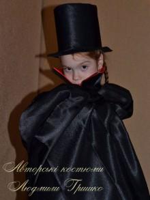 фото плащ вампира и цилиндр на halloween