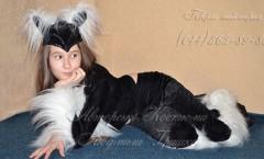 фото костюм черной кошки на Хеллоуин