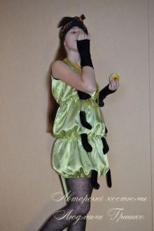 костюм гусеницы фото в тунике с ножками