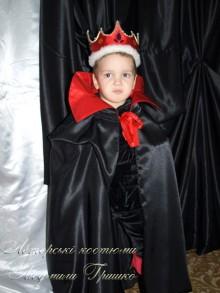 фото костюм кощея в красной короне