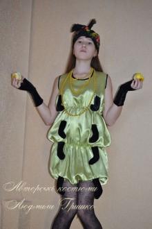 костюм гусеницы фото с яблоками
