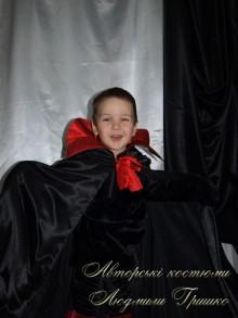 фото детский костюм кощея в черном плаще