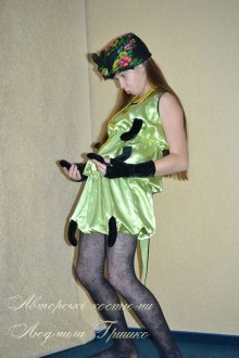 костюм сороконожки для девочки фото