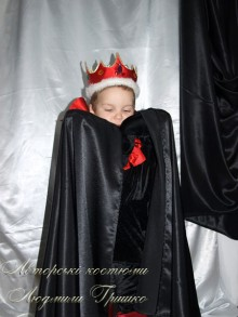 фото костюм кощея плащ и корона
