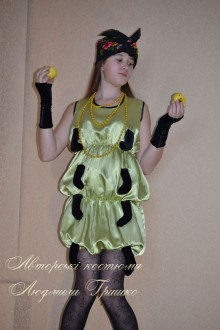 детский костюм гусеницы фото