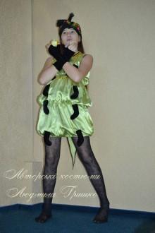 маскарадный костюм гусеницы фото