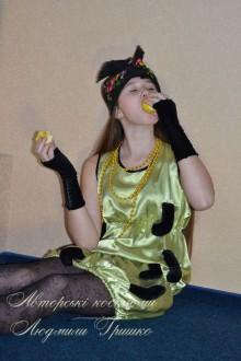 фото костюм гусеницы для девочки