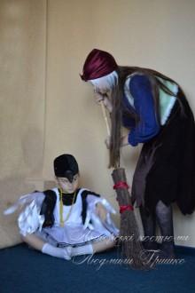 авторские костюмы фото Баба Яга и сорока